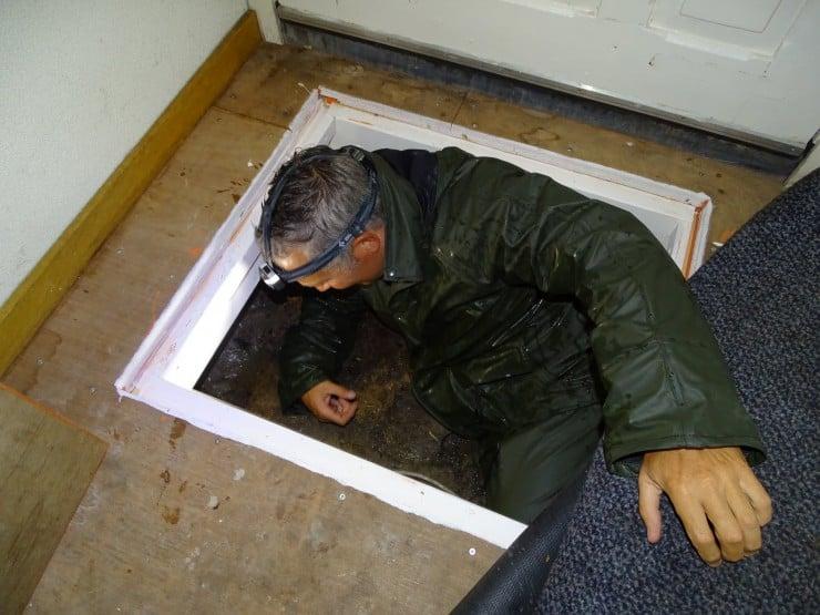 Kruipruimte inspectie Edam