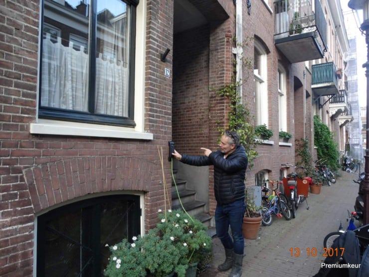 lintvoegmeting Amsterdam